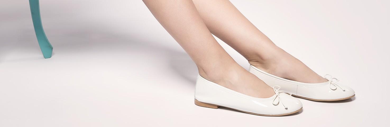 Charol | Bailarinas de Charol para Niñas | Calzado de piel para Niñas